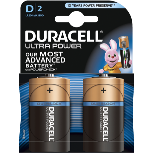 D Duracell Ultra Power