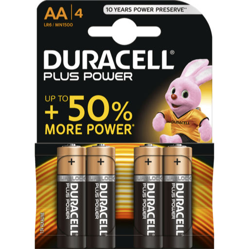 AA Duracell Plus Power