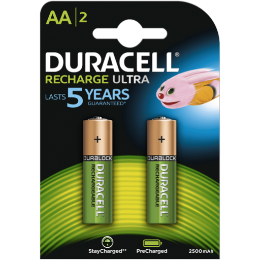 AA Duracell Recargable PreCharged B2