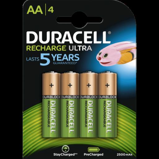 AA Duracell Recargable PreCharged B4