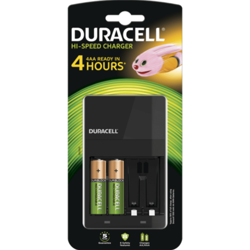 CEF14 Speed Value Charger cargador Duracell x 3