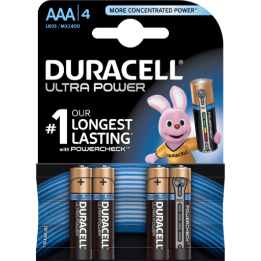 AAA Duracell Ultra Power