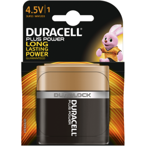 4.5V Duracell Plus Power