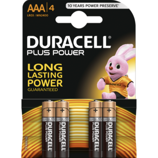 AAA Duracell Plus Power