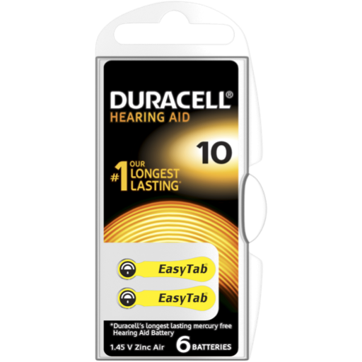Blister a partir de 2,04€+IVA - 10 Hearing-Aid Duracell