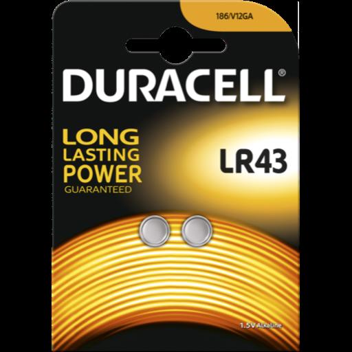 Blister a partir de 0,56€+IVA - LR43 Duracell B2