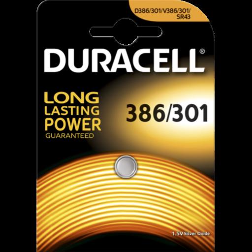 Blister a partir de 1,54€+IVA - 386-301 pila Duracell