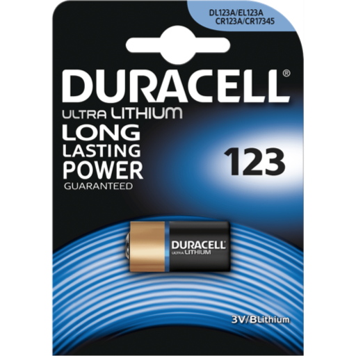 123 Duracell B1