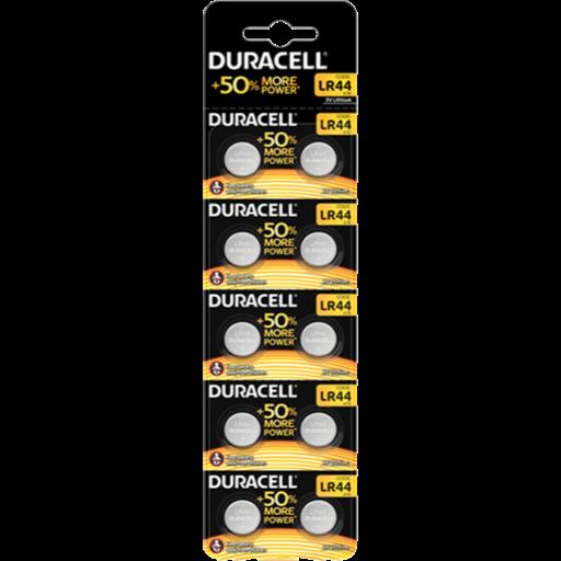 LR44 Duracell B10