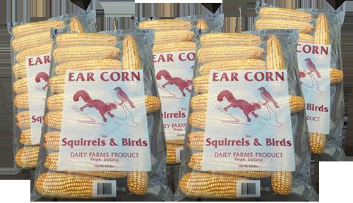 33 lb case of ear corn – (5 -6.5 lb bags) 33lbec
