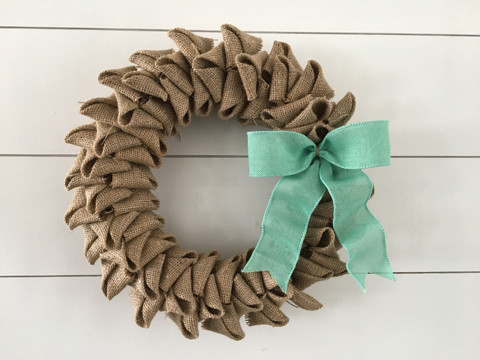 Burlap Wreath Kit Pick-up