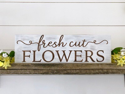 Flowers Sign Kit Pick-up