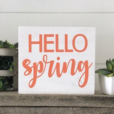 Hello Spring Block Kit Pick-up