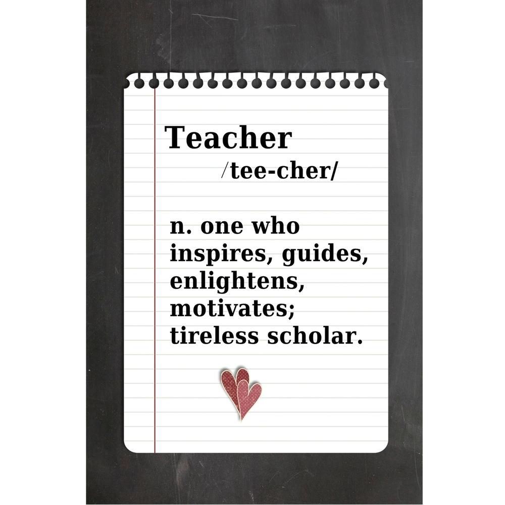 Teacher 2 Printable