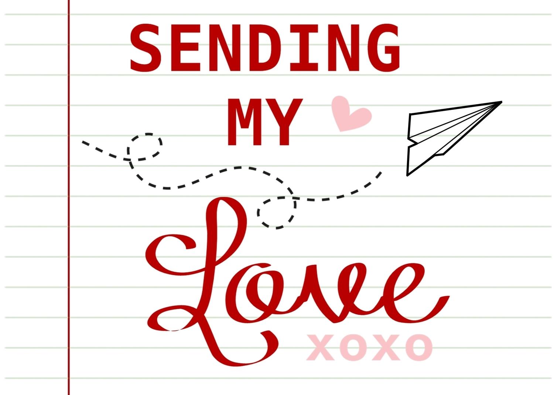 Sending Love Printable
