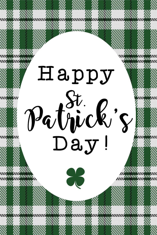 Happy St. Patricks Printable