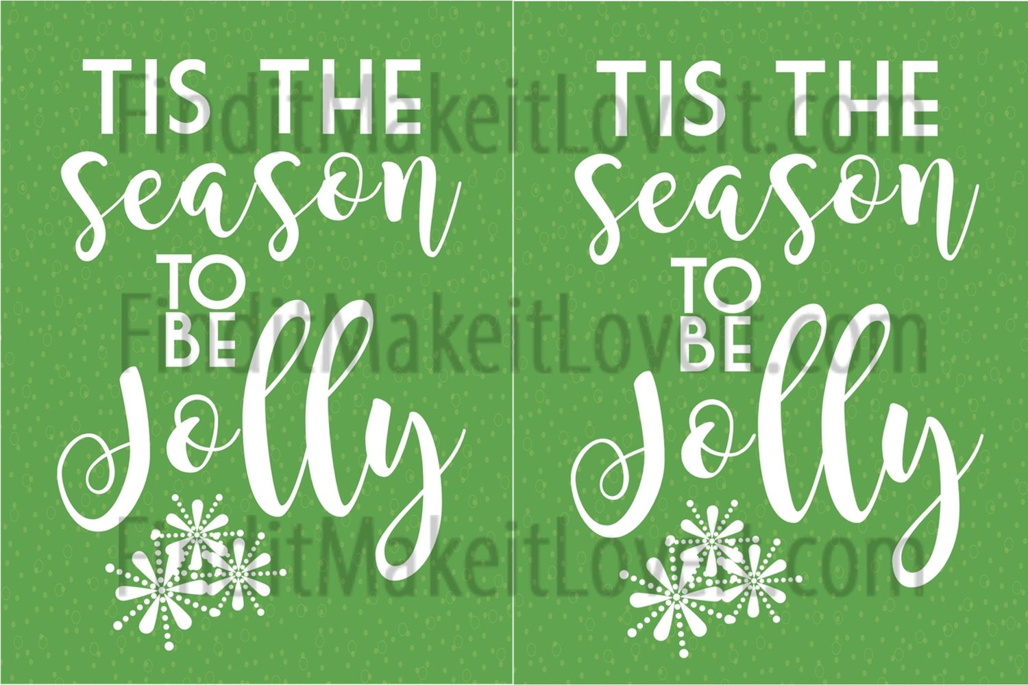Tis the season printable 3x4