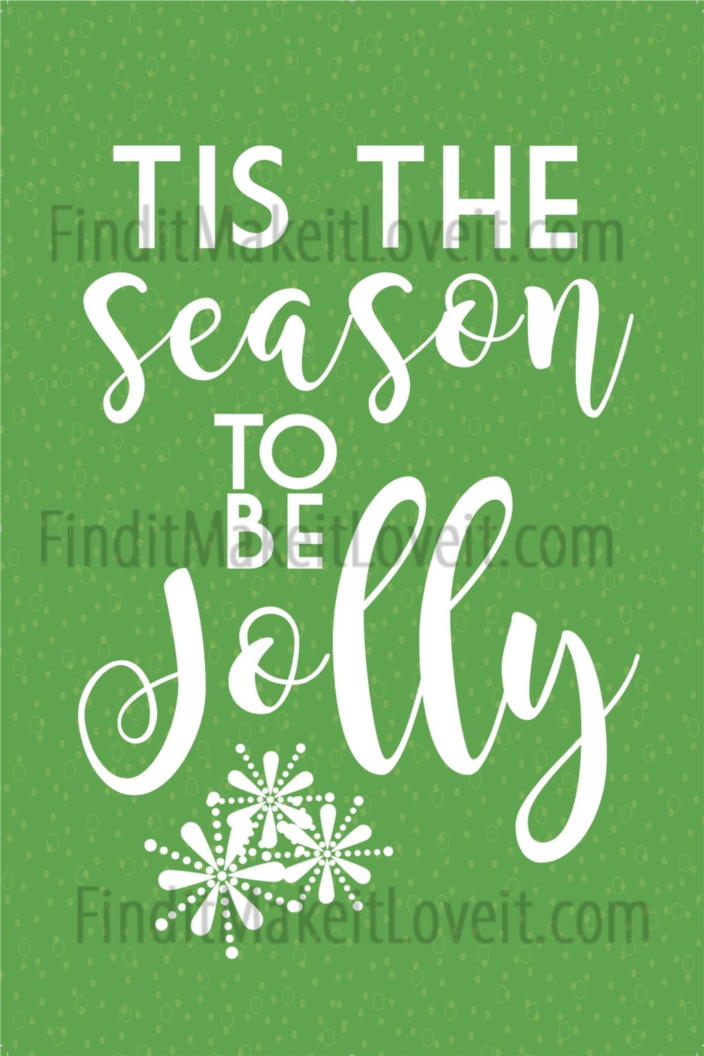 Tis the season printable 4x6