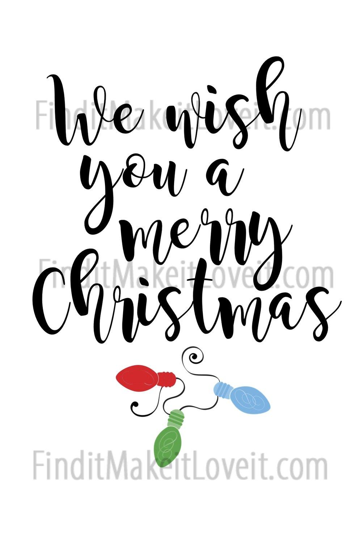 Christmas Printable 4x6
