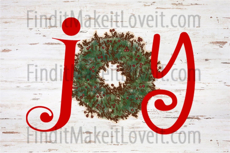 Joy Printable 4x6