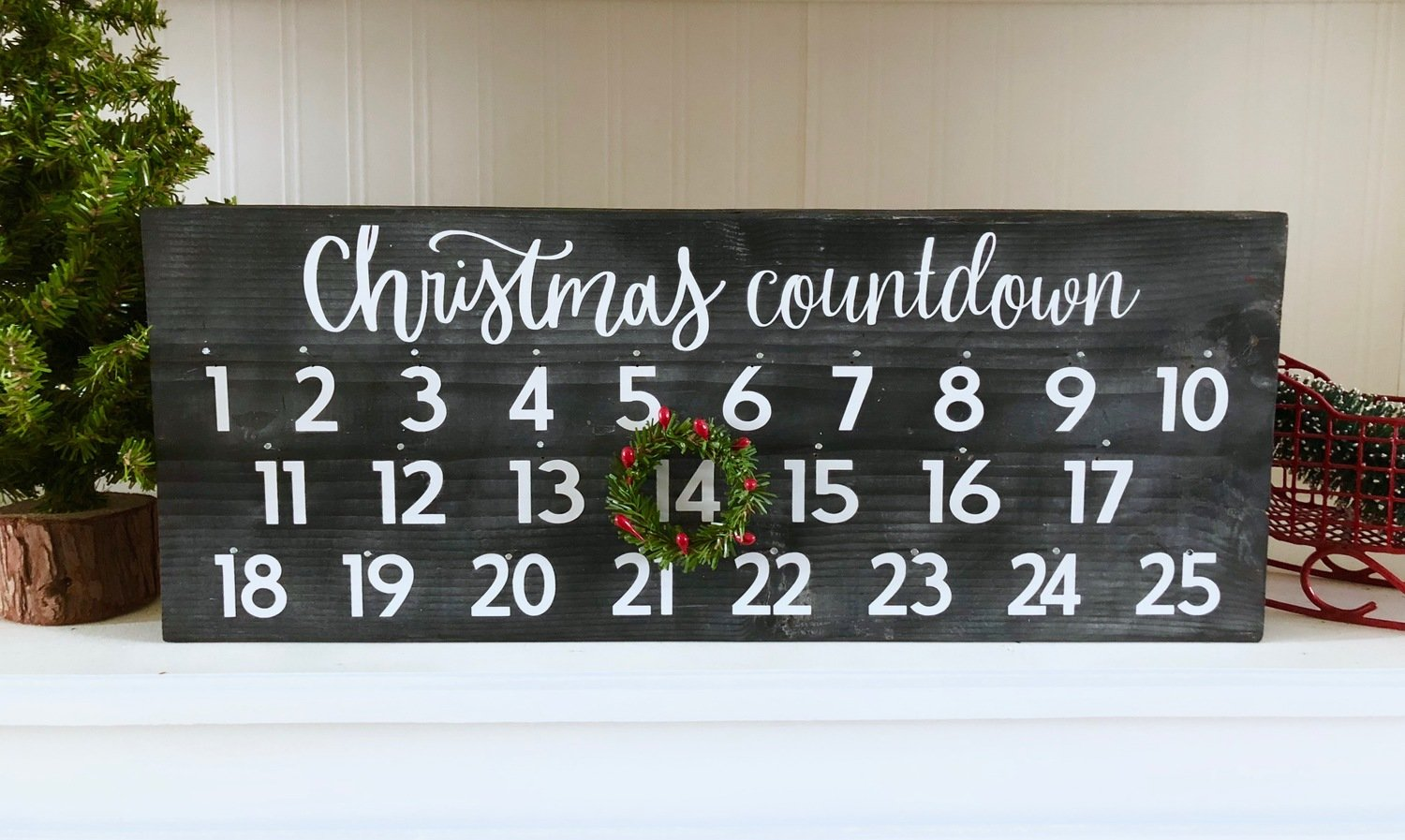 Christmas Countdown Kit Shipping