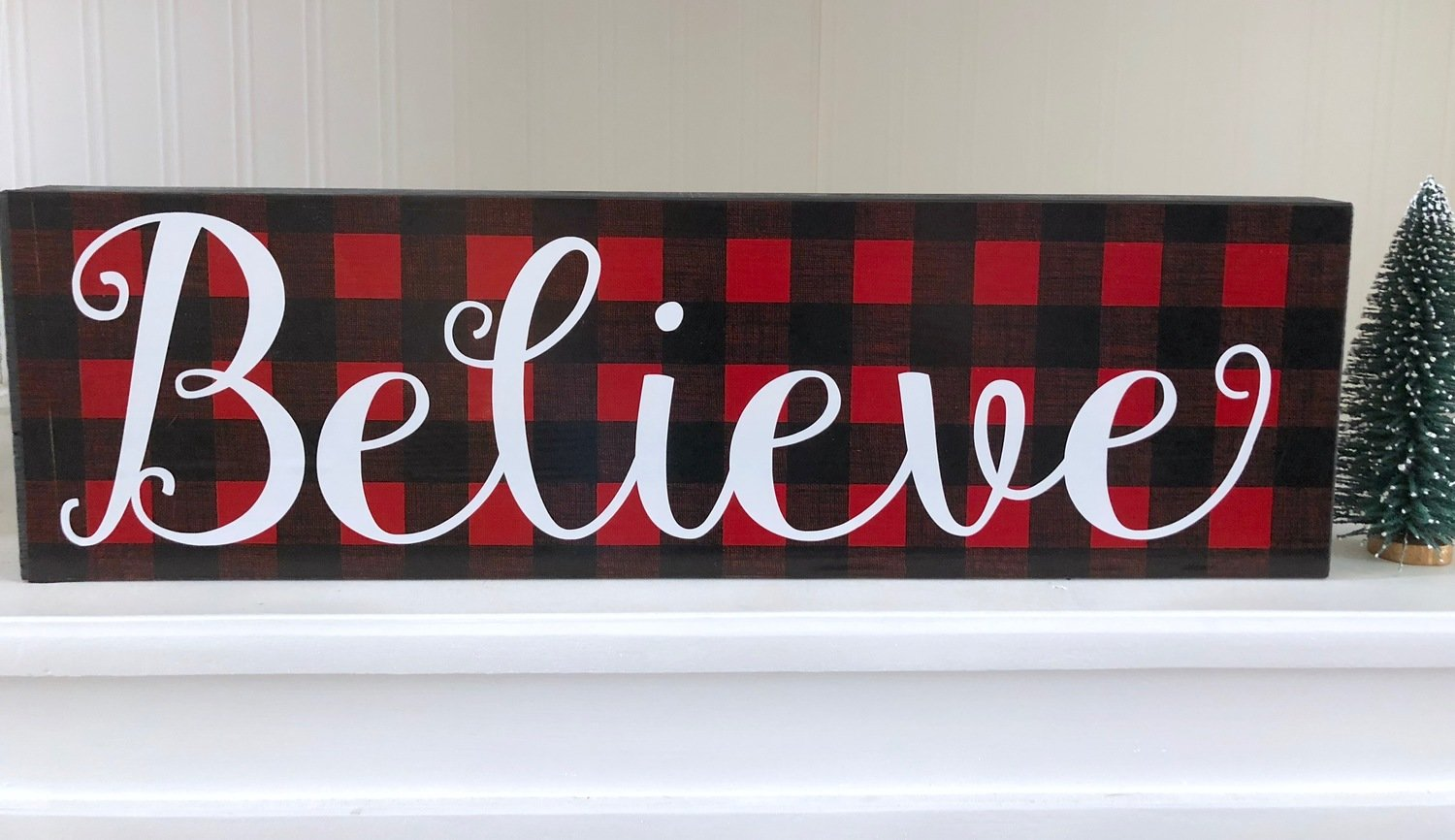 Believe Sign Kit Shipping