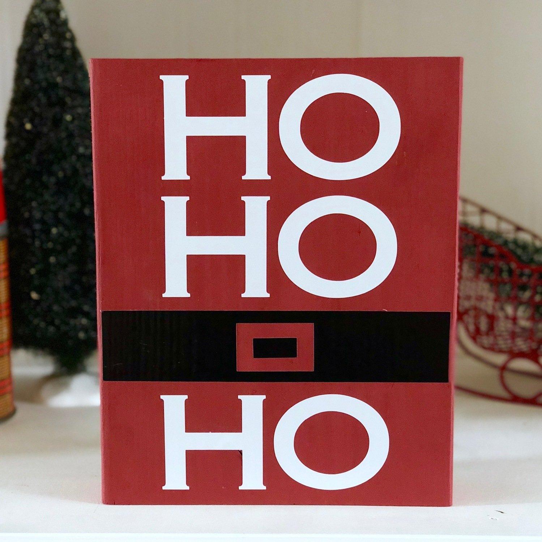 Ho,Ho,Ho Block Kit Pick-up