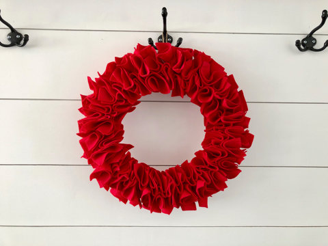 Red Wreath Kit Pick-up