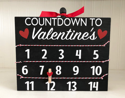 Valentine Countdown kit (Pick-up Only)
