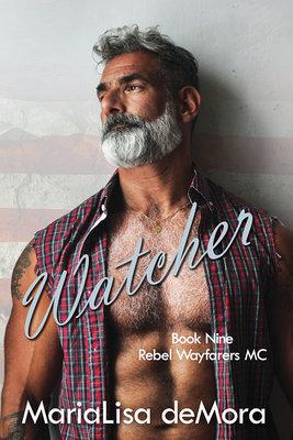 Watcher, Rebel Wayfarers MC (book #9), paperback, signed