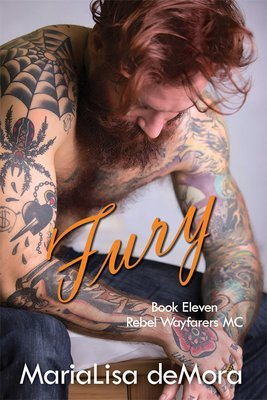 Fury, Rebel Wayfarers MC (book 11), paperback, signed