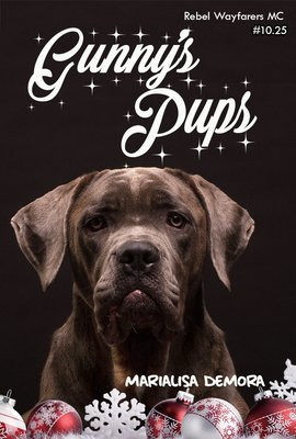 Gunny's Pups, Rebel Wayfarers MC (novella #10.25), paperback, signed