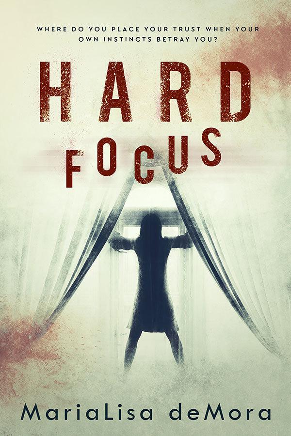 Hard Focus, paperback, signed 0000026