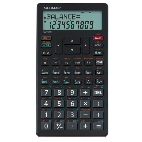 738FB 10 Digit Financial Calculator