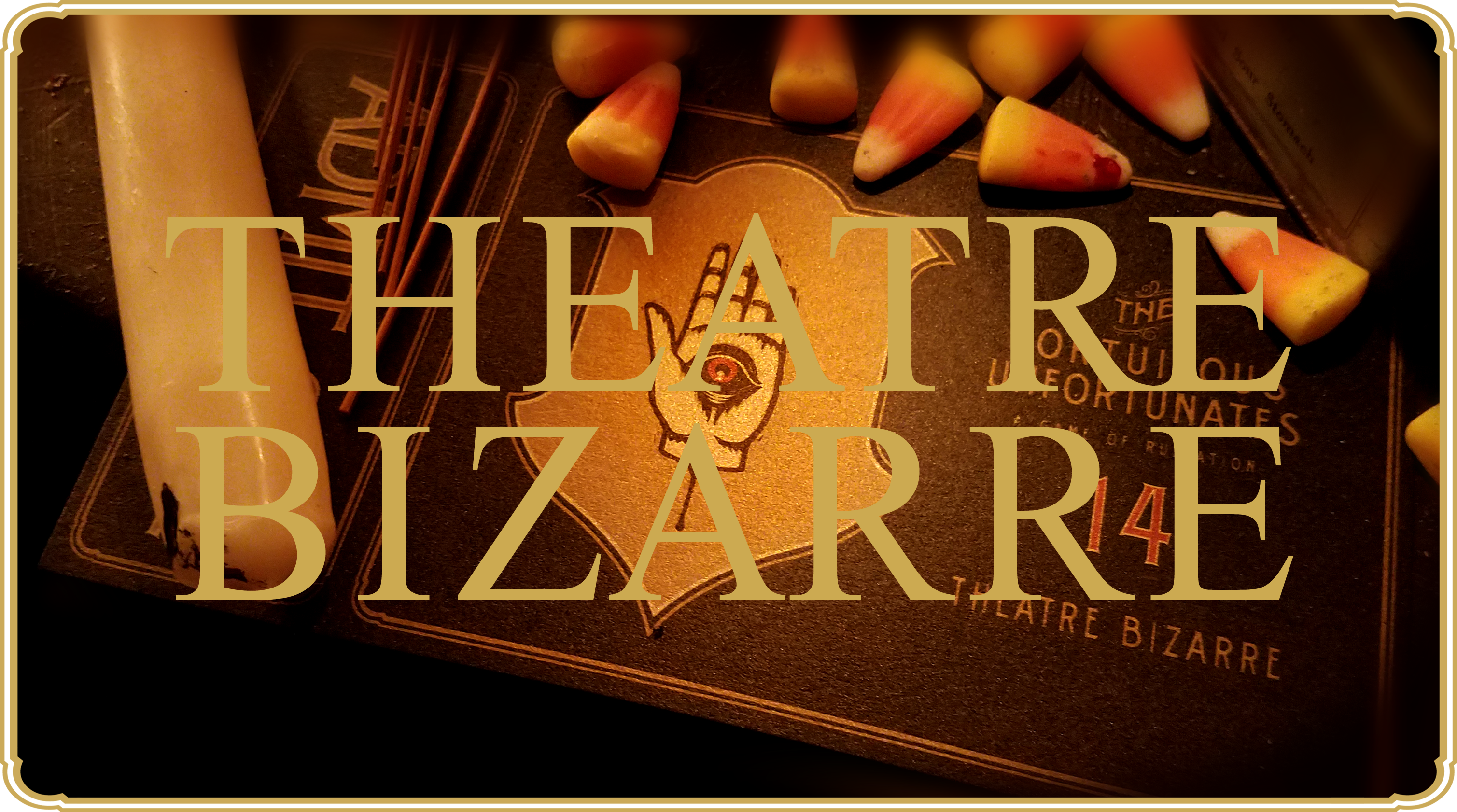 Ticket to Theatre Bizarre - October 14, 2017 x66622107