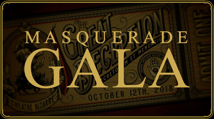 "SOLD OUT - Masquerade Gala ""Zombo's Repose"" [2 Tickets + Hotel Stay] - October 11, 2019"