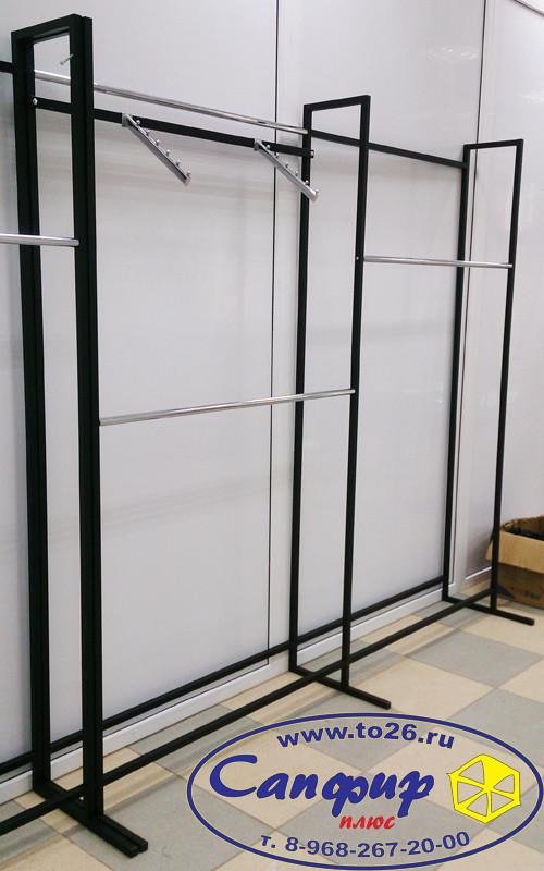 Вешало без крепления к стене L - образное 1,2 х 2,4 м.