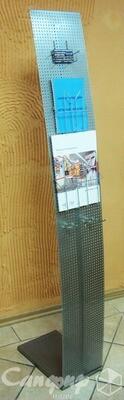 Стойка рекламная для выставок, визиток и буклетов