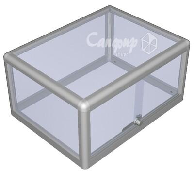 Настольная кондитерская витрина для выпечки