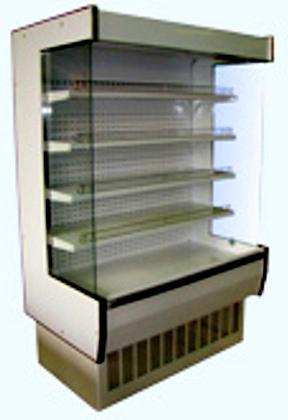 Холодильная горка ВХСп Нова (0…+7, пристенная, среднетемпературная, динамика)