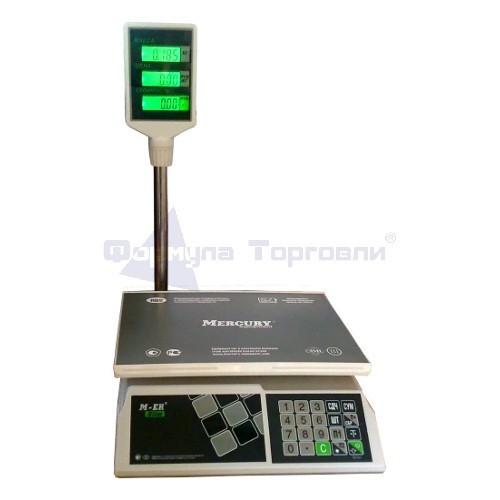 Весы торговые M-ER 326 ACP-32.5 с АКБ LCD Slim