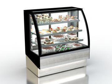 Холодильная витрина  Мария  Аква  Гнутое стекло