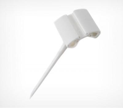 Иголка белая  пластик MINISTICK