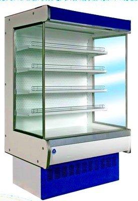 Холодильная горка ВХС  КУПЕЦ  (0…+7, пристенная, среднетемпературная, динамика)