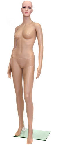 Манекен женский пластиковый F 2