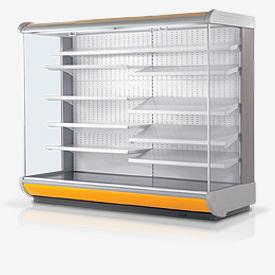 Холодильная горка Гольфстрим под выносное холодоснабжение