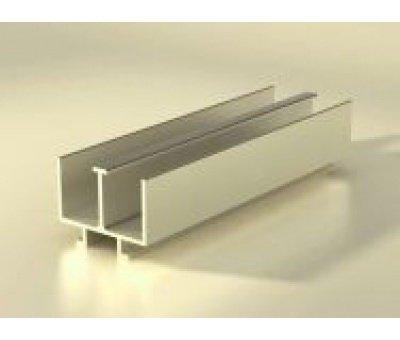 направляющая для раздвижных дверок для витрин из алюминиевого профиля
