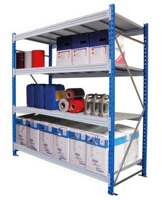 Стеллаж металлический 500 кг/на полку (SGR 1263-2,0)