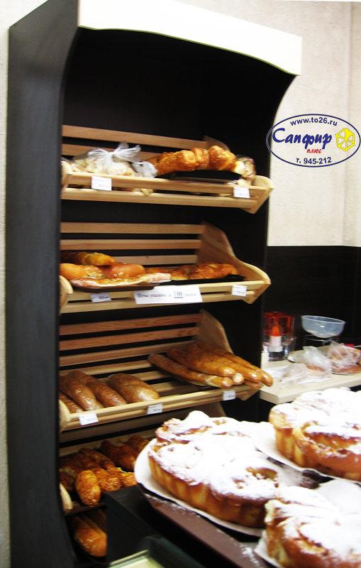 Стеллаж хлебный  985*450*2300