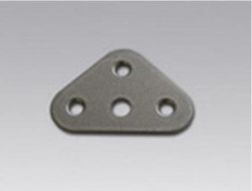 Пластина соединительная на 3 трубы с отверстием Ǿ11мм ПС-4.1-СМ